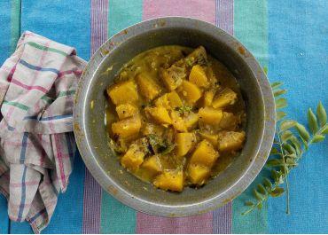 One-pot curry de courge