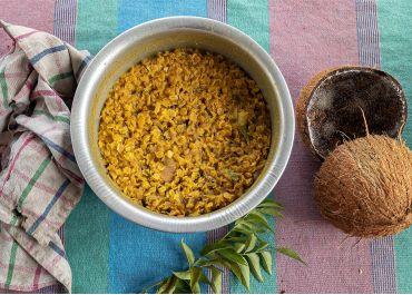 One-pot curry de lentilles (dahl)