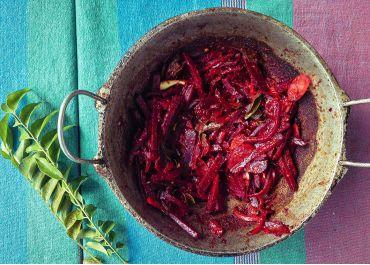One-pot curry de betterave
