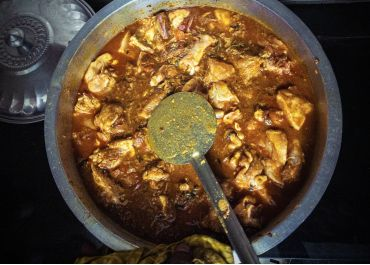 Curry de poulet à la kéralaise