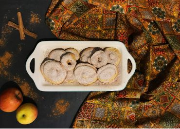 Beignets de pommes à la cannelle