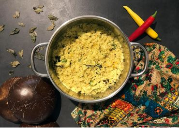 Curry de chou-fleur (thoran)
