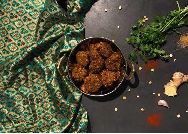 Masala vadai (beignets de lentilles)