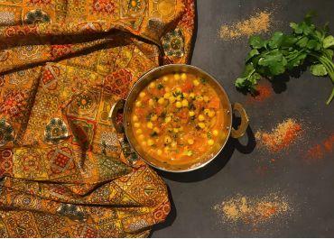 Curry de pois chiches (Chana masala)