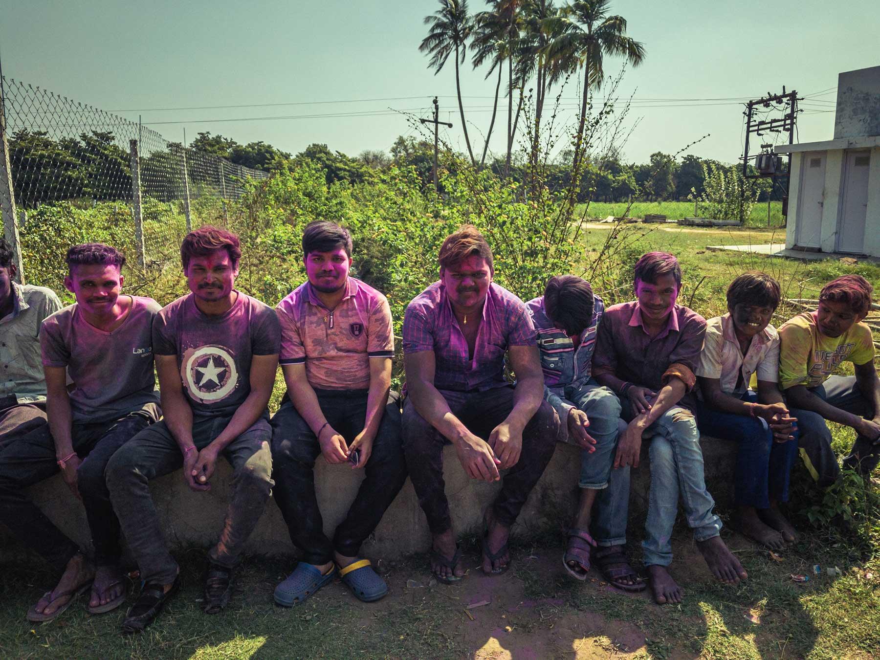 Un domaine familial inspirant en agriculture naturelle dans les environs d'Ahmedabad au Gujarat au nord-ouest de l'Inde